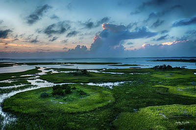 Photograph - Marsh Sunset by Jody Merritt