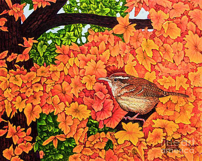Painting - Marsh Wren by Michael Frank