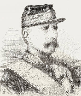 Marshal Marie Esme Patrice Maurice De Art Print