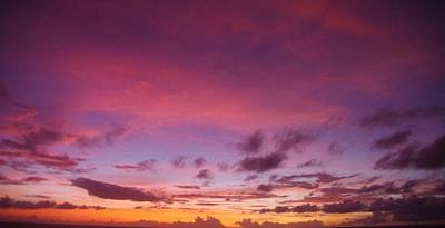 Photograph - Marshall Islands Area Sky 5 by Phyllis Spoor