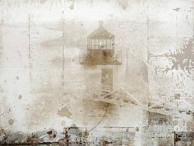 Photograph - Marshall Lighthouse #2 by Marcia Lee Jones