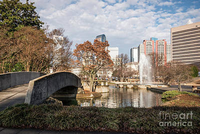 Marshall Park In Charlotte North Carolina Art Print