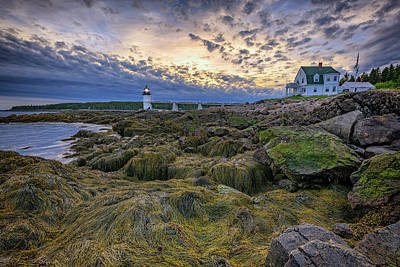 Photograph - Marshall Point At Dusk by Rick Berk