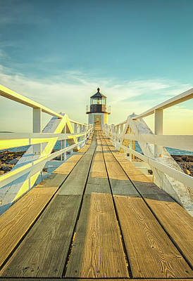 Photograph - Marshall Point Light by Brian Caldwell