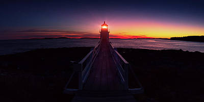Photograph - Marshall Point Light  by Emmanuel Panagiotakis