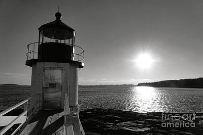 Photograph - Marshall Point Light House At Sunset by Olivier Le Queinec