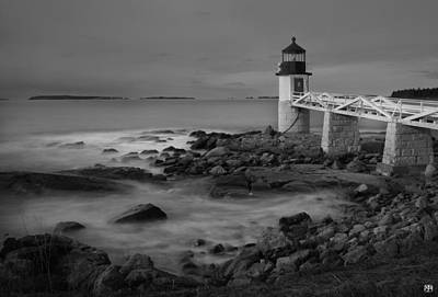 Photograph - Marshall Point Light by John Meader