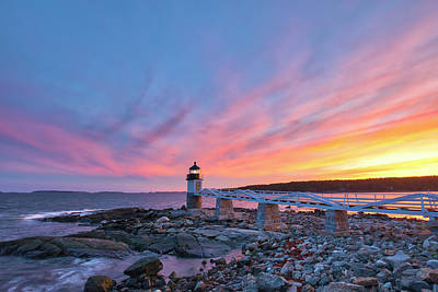 Photograph - Marshall Point Light by Juergen Roth