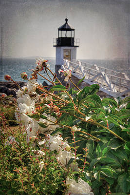 Photograph - Marshall Point Light - Maine Lighthouse by Joann Vitali