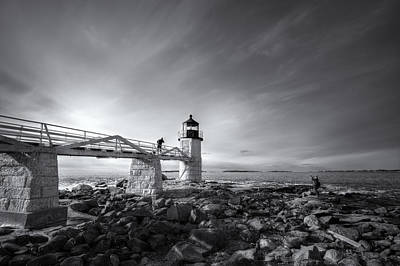 Digital Art - Marshall Point Light Photographers by Patrick Groleau