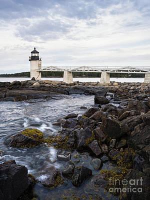 Photograph - Marshall Point Light, Port Clyde, Maine  -97514 by John Bald