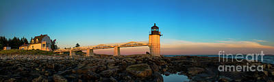 Royalty-Free and Rights-Managed Images - Marshall Point Lighthouse by Diane Diederich