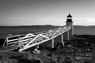 Photograph - Marshall Point Lighthouse In Late Winter Afternoon by Olivier Le Queinec