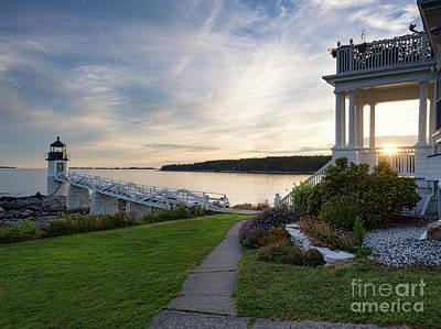 Photograph - Marshall Point Lighthouse, Port Clyde, Maine -87379 by John Bald