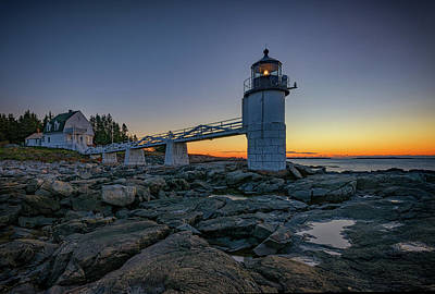 Knox County Photograph - Marshall Point Lighthouse by Rick Berk