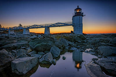 Photograph - Marshall Point Reflection by Rick Berk