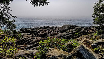 Photograph - Marshall Point Scenery, Maine by Marilyn Burton