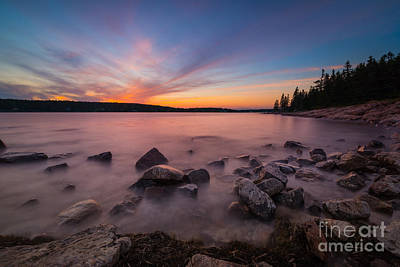 Surrealism Royalty-Free and Rights-Managed Images - Marshall Point Sunset by Michael Ver Sprill
