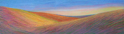 Painting - Marshall Sunset by Lucinda  Hansen
