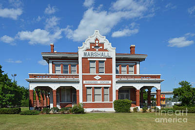Photograph - Marshall Train Station by Catherine Sherman