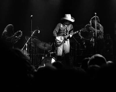 Marshall Tucker Winterland 1975 #24 Crop 2 Art Print