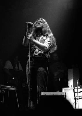 Photograph - Marshall Tucker Winterland 1975 #25 Crop 2 by Ben Upham