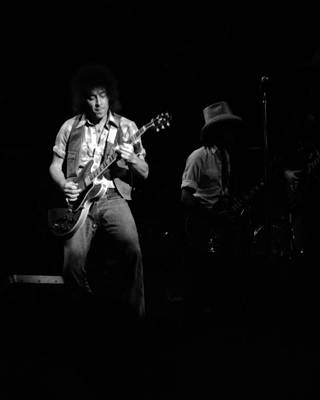 Photograph - Marshall Tucker Winterland 1975 #38 With Elvin by Ben Upham