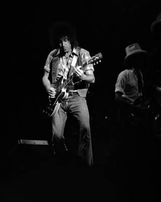 Photograph - Marshall Tucker Winterland 1975 #39 With Elvin by Ben Upham