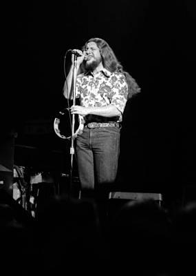 Photograph - Marshall Tucker Winterland 1975 #43 Crop 2 by Ben Upham