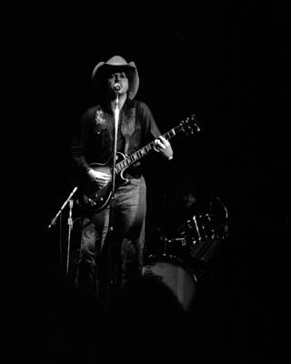 Photograph - Marshall Tucker Winterland 1975 #46 by Ben Upham