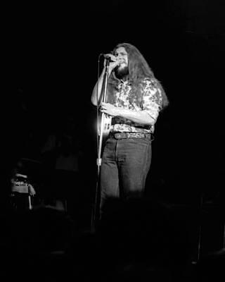 Photograph - Marshall Tucker Winterland 1975 #60 by Ben Upham