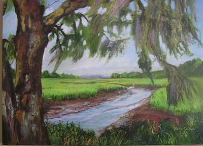 Painting - marshes of Charleston  by Gloria Smith