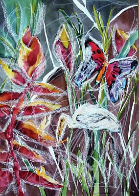 Painting - Marshland IIi by Carol Schindelheim