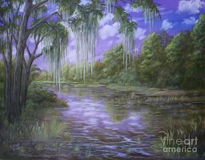 Painting - Marshland by Marlene Kinser Bell