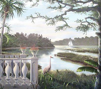 Painting - Marshland Terrance by James R Hahn