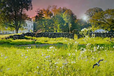 Photograph - Marshlands And John Jay House by Diana Angstadt