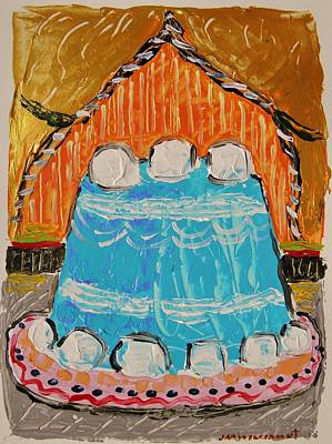 Painting - Marshmallow Cake by John Williams