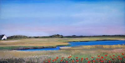 Marshside Art Print by Cindy Plutnicki