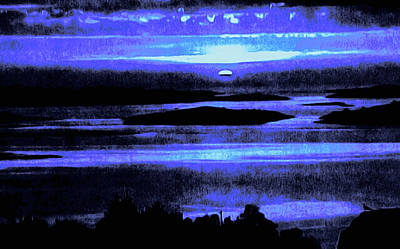 Painting - Last Light by Susan Maxwell Schmidt