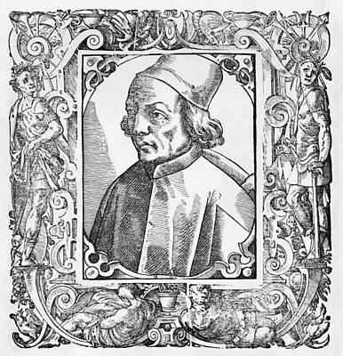 Plato Photograph - Marsilio Ficino, Italian Philosopher by Middle Temple Library