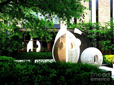Photograph - Mart Science And Engineering Library by Jacqueline M Lewis