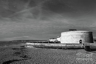 Seaford Photograph - Martello Tower Number 74 Seaford Sussex by James Brunker