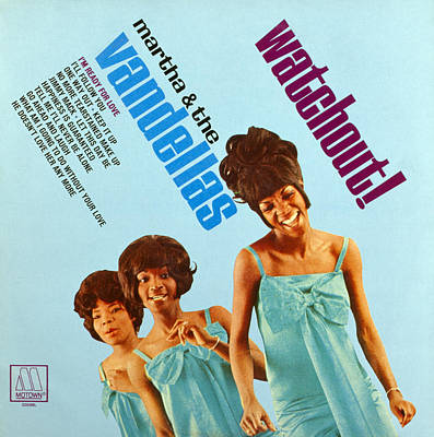 Martha And The Vandellas Art Print