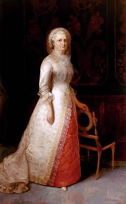 Martha Dandridge Custis Washington Art Print