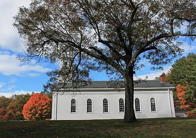 Photograph - Martha Mary Chapel In Sudbury Ma 2 by Michael Saunders