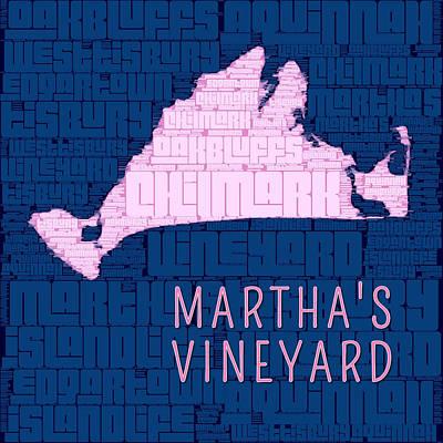 Vineyard Digital Art - Martha's Vineyard 2 by Brandi Fitzgerald