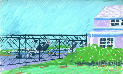 Painting - Martha's Vineyard Airport by Candace Lovely