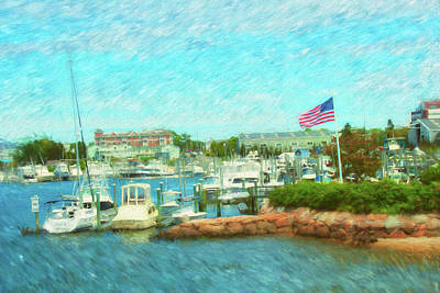 Photograph - Martha's Vineyard Series 7219 by Carlos Diaz