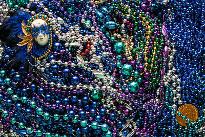 Wall Art - Photograph - Mardi Gras In Blue by Diana Marcoux
