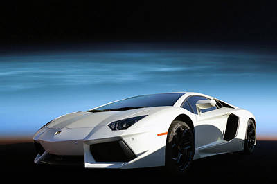 Photograph - Martian Lambo by Bill Dutting